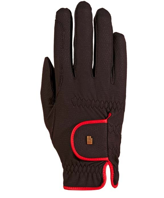 Vesta Riding Gloves - Black