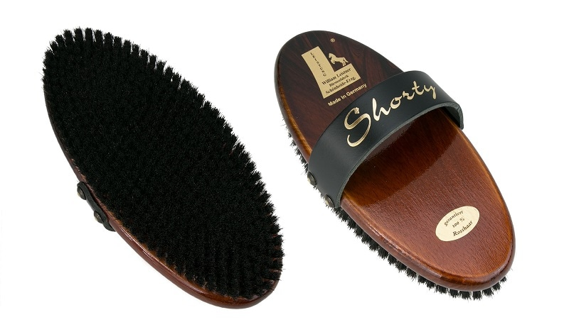 Shorty grooming brush