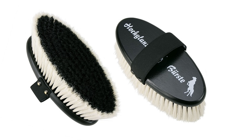 High-gloss grooming brush