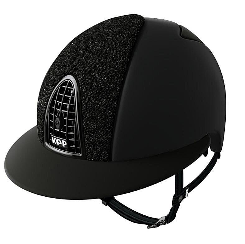 Cromo Textile Glitter Polo - Black/L
