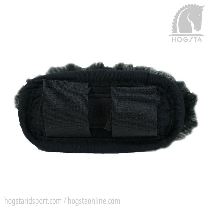 Chin guard Sheepskin - Black