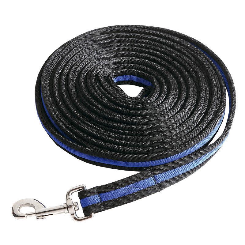 Lunge line - Black/Blue