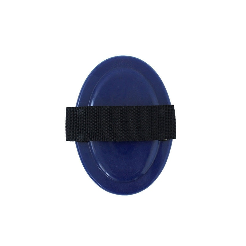 Curry comb in plastic - Blue