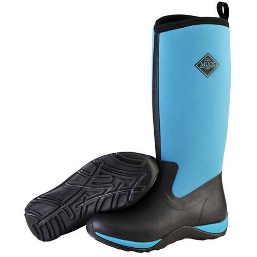 Himmelsblå Muck Boot-stövel modell Lady Adventure Hogsta Ridsport.