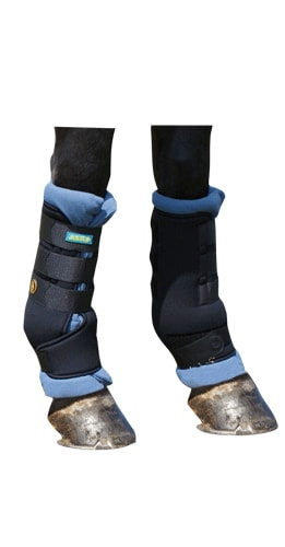 Stable bandages and boots