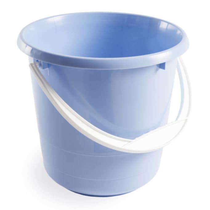 Bucket 5 litres - Light blue