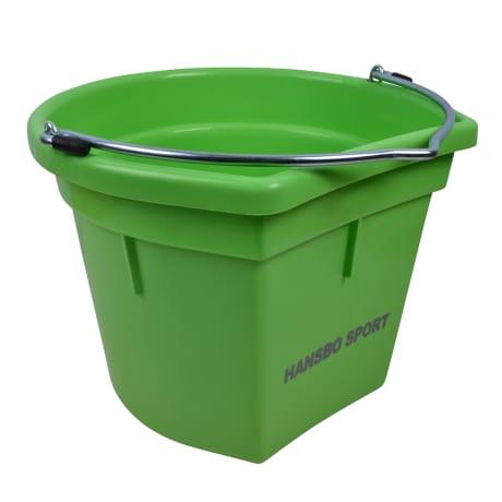 Flat side bucket, 20 litres