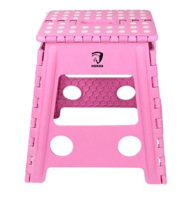 Folding step stool / Get up - Pink