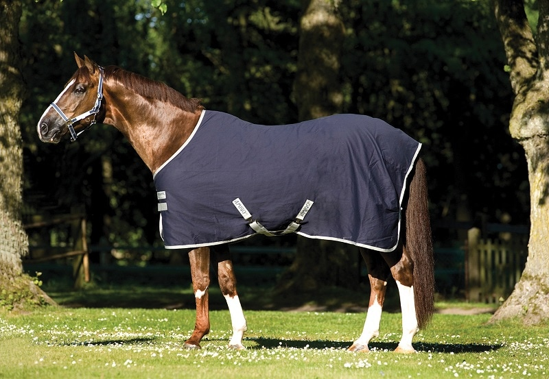 Amigo Stable Sheet - Navy/Silver