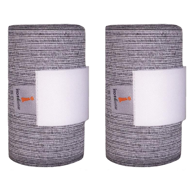Ljusgrå benlindor från Incrediwear Hogsta Ridsport.