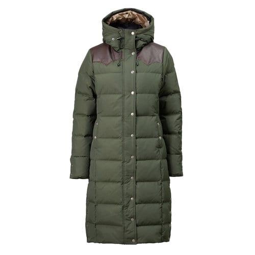 Down Coat Snow Queen - Olive