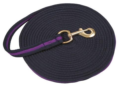 Lunge line - Navy/violet