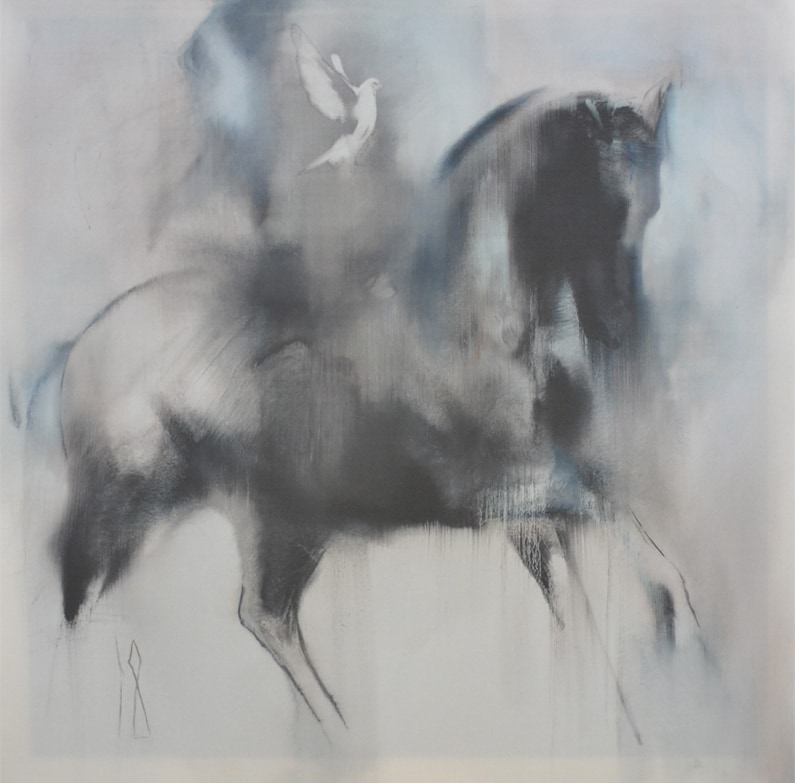 Horse painting - Ghost Rider