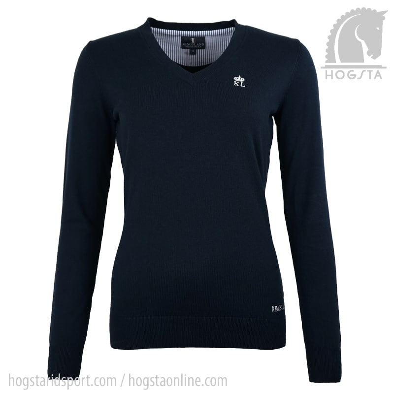 Kiawah Stickad tröja - Marin/S