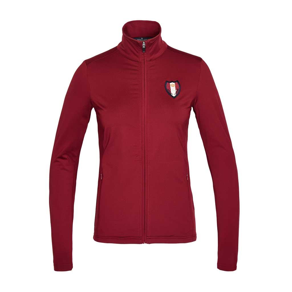 klminta-fleece-jacket-burgundy-kingsland