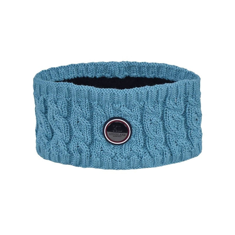 Saanich knitted headband - Turquoise