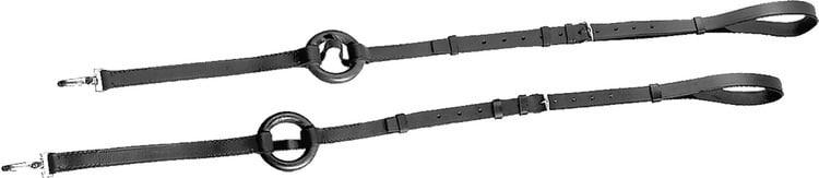 Side reins - Black