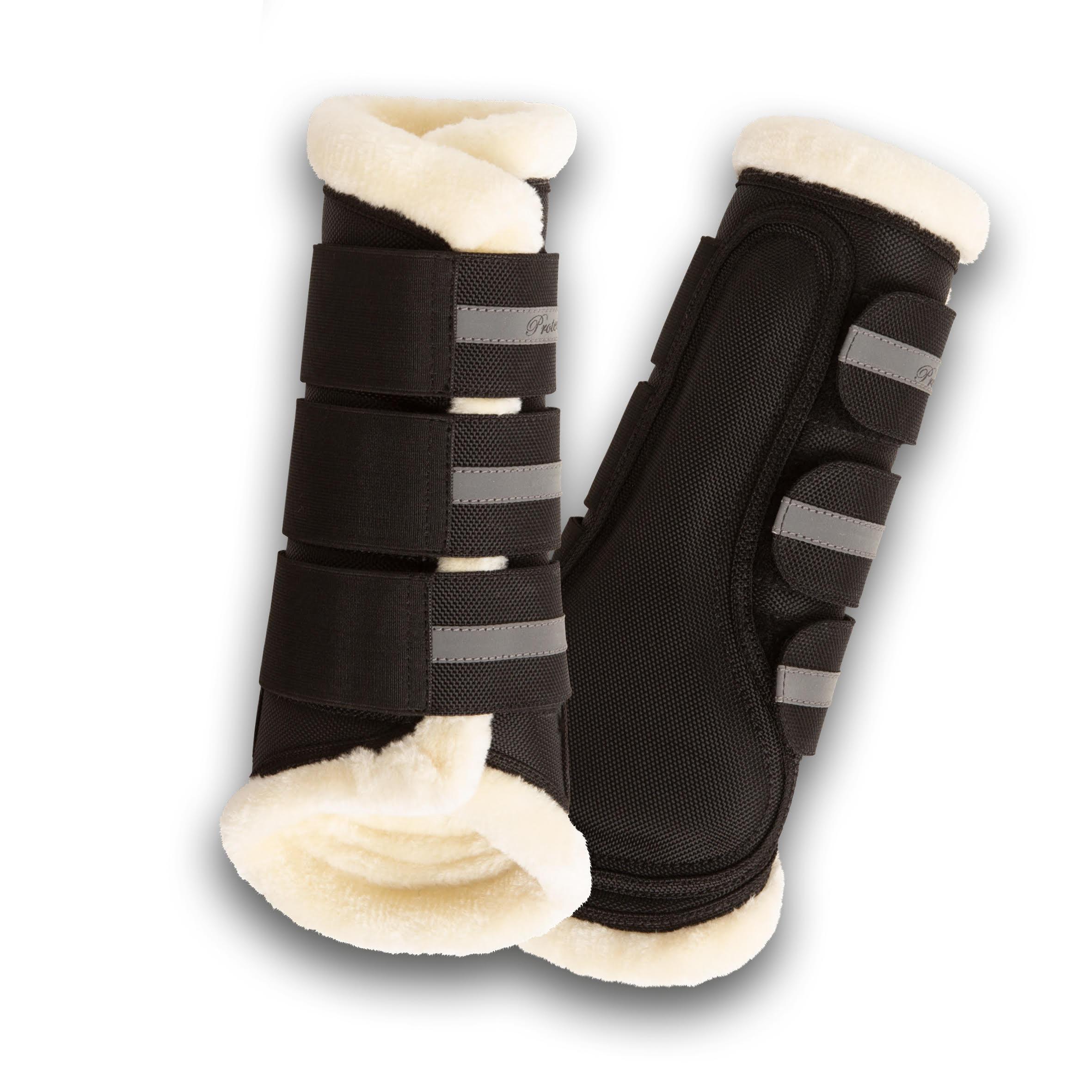 Cordura Brushing Boot - Black