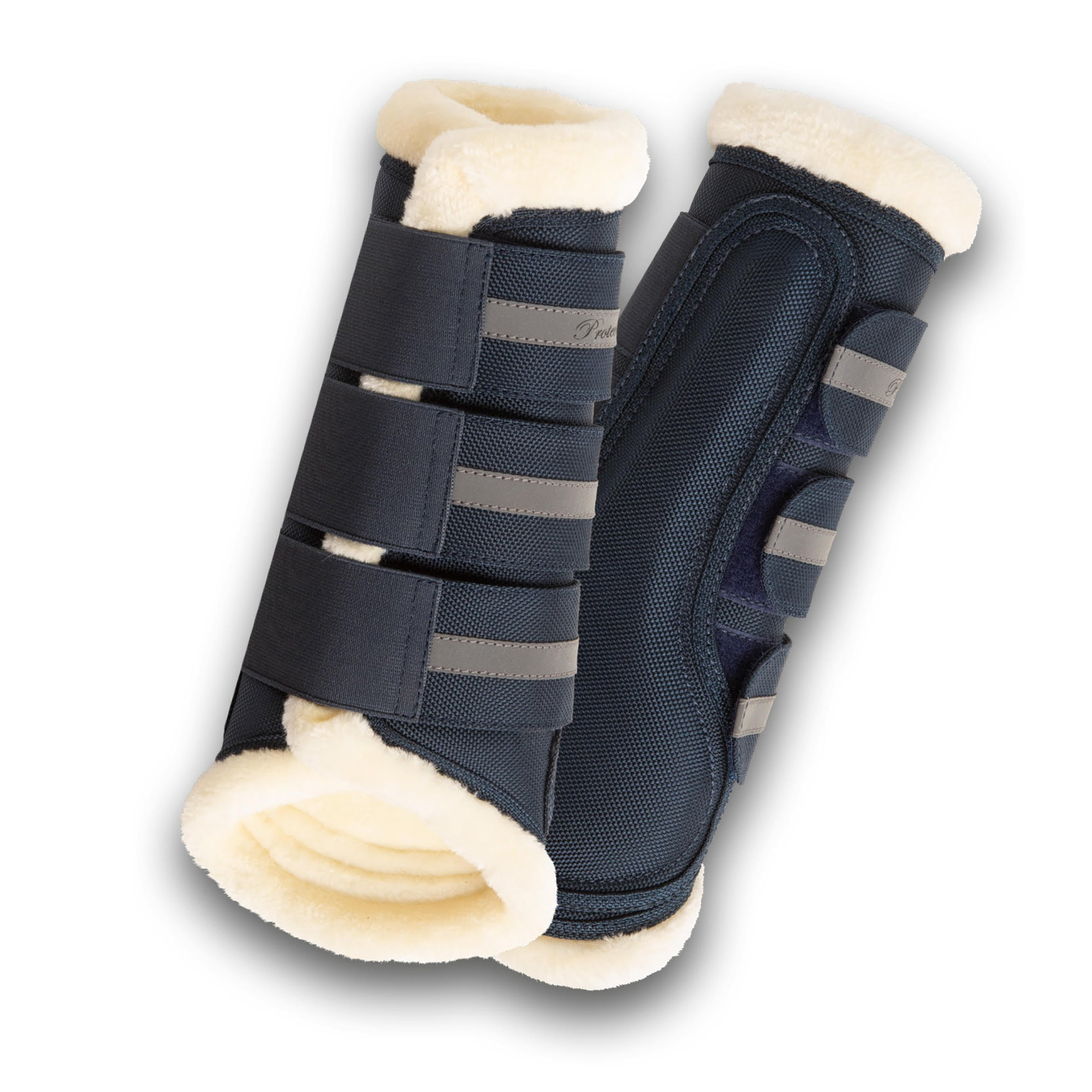 Cordura Brushing Boots - Blue