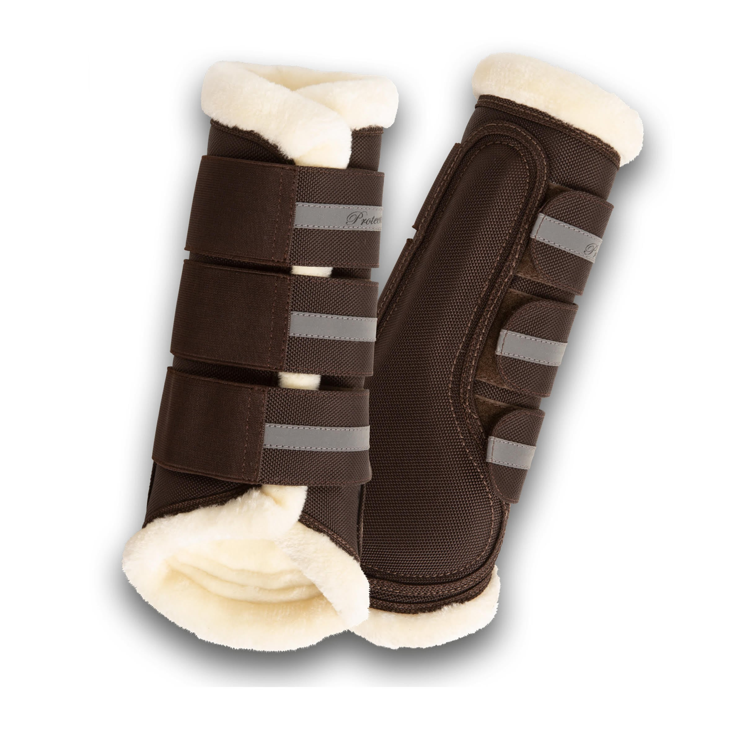 Cordura Brushing Boots - Brown