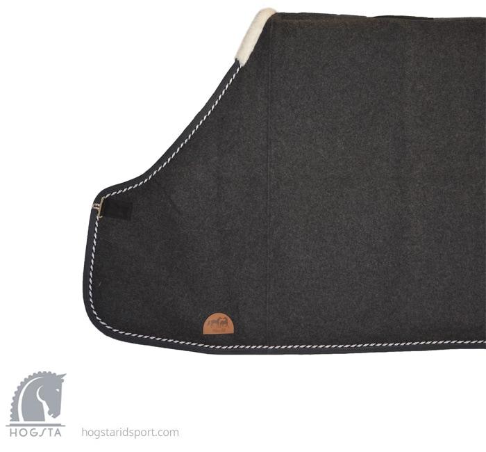 Wool Rug - gray/silver