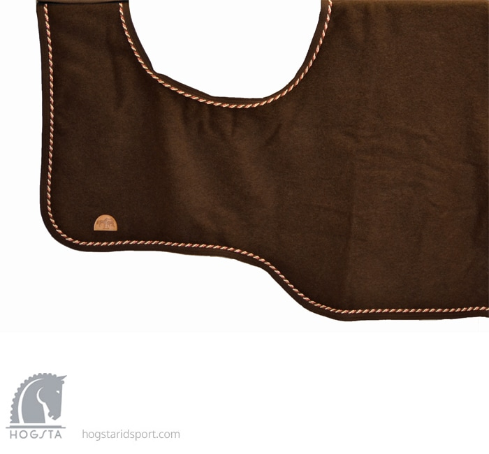 Competition sheet in wool - Brown