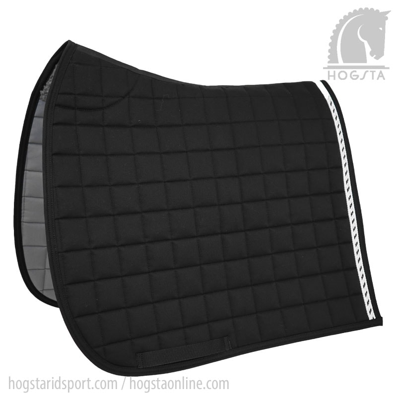 Mias RS Dressage Saddle Pad - Black