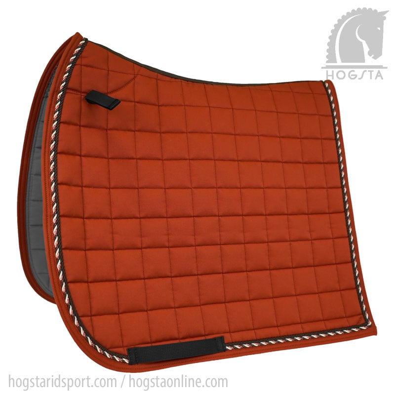 Mias RS Dressage Saddle Pad - Rusty