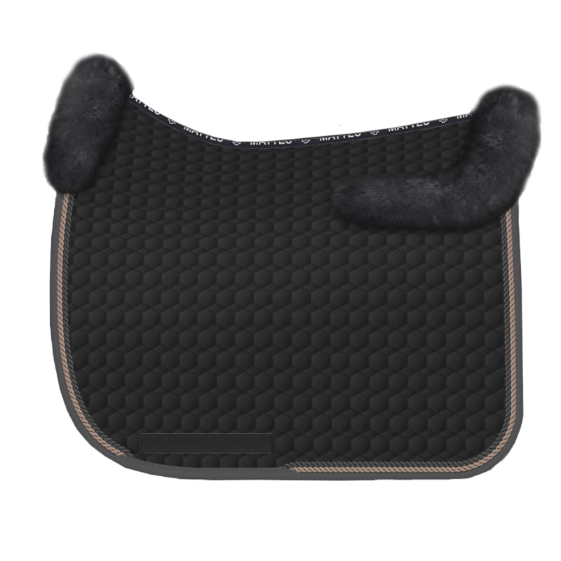 Sheepskin Dressage saddle pad - Dante Weltino