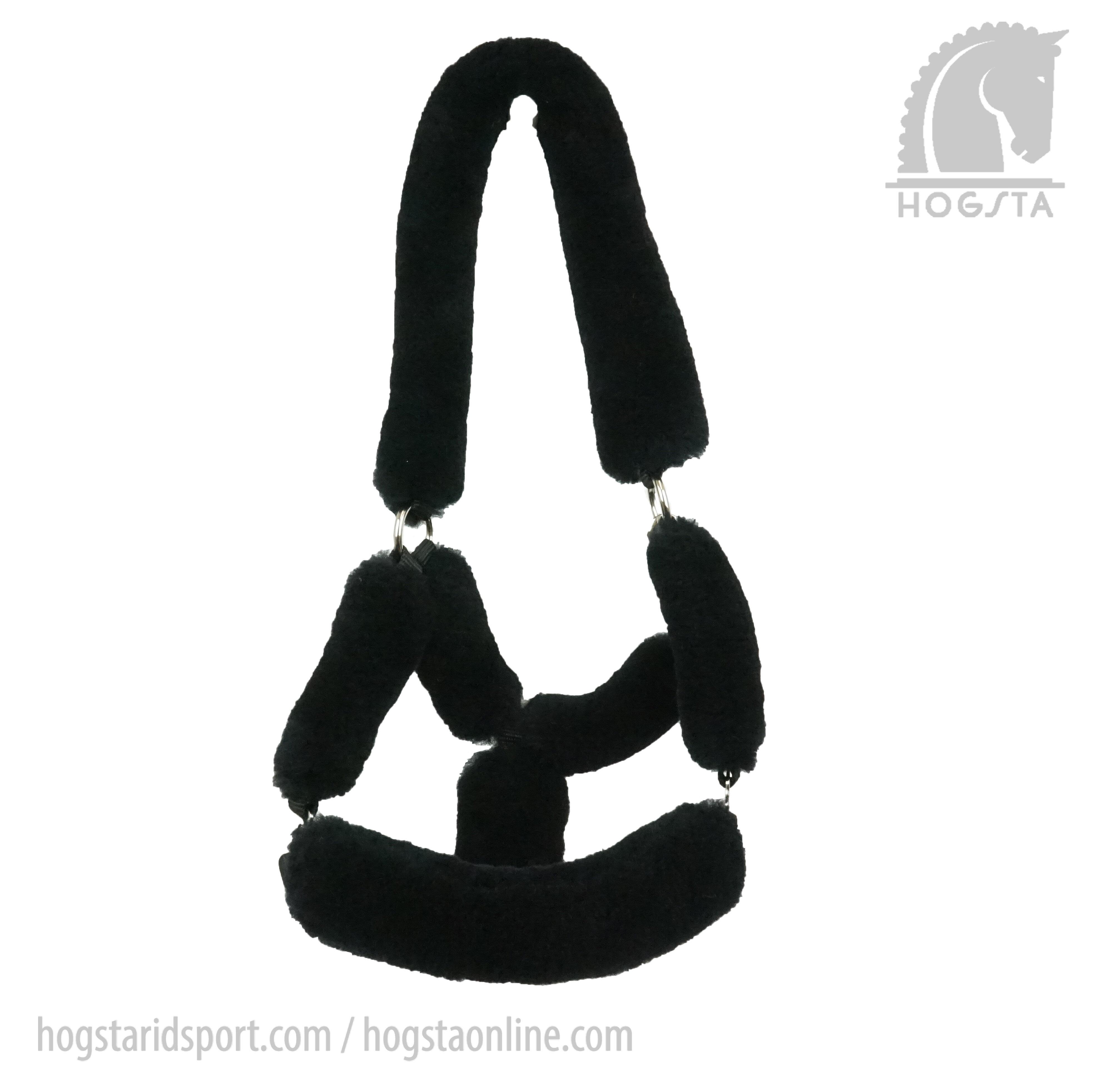 Sheepskin Halter - Black