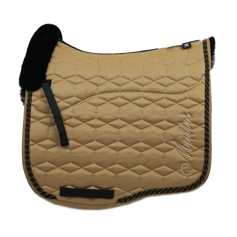 Eurofit Dressage Saddle Pad Delux - Sand