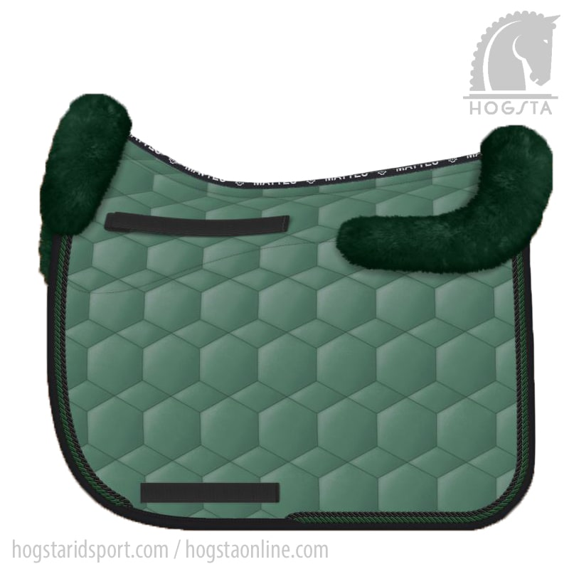 Sheepskin DR saddle pad Sheen - Racing Green