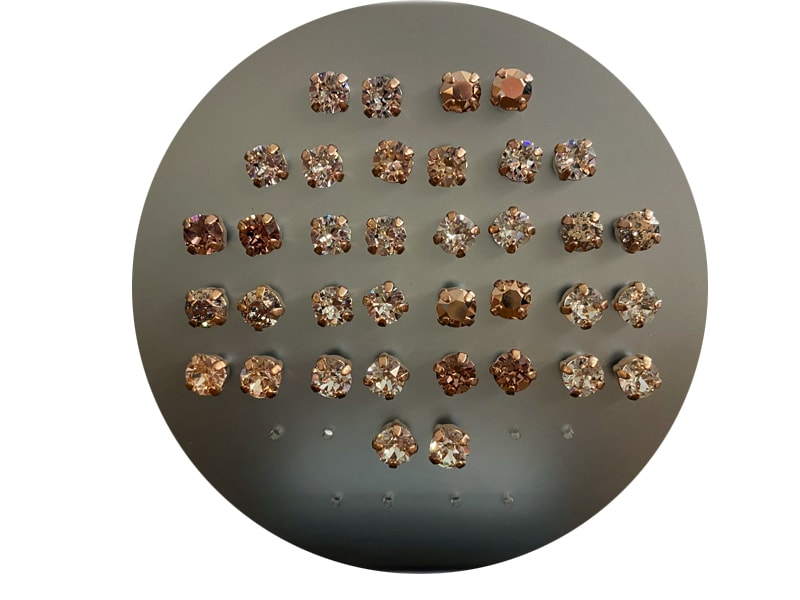 OS Earrings - Rose