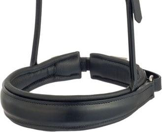Noseband XL 5 cm for double bridle - own design
