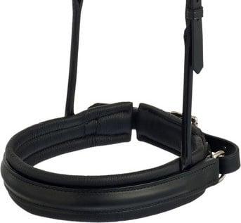 Noseband XL-Soft 5 cm double bridle - own design