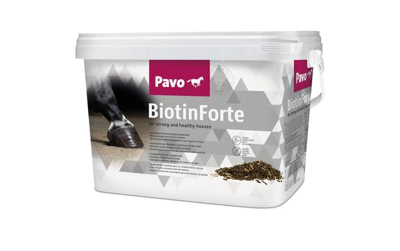 Biotin Forte 3 kg, från Pavo. Hogsta Ridsport.