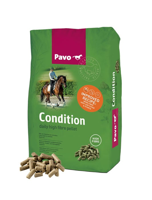 Pavo Condition 20 kg säck. Hogsta Foderbutik.
