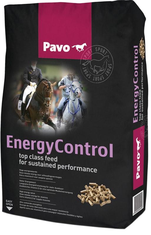 Pavo Energy Control 20 kg säck. Hogsta Foderbutik.