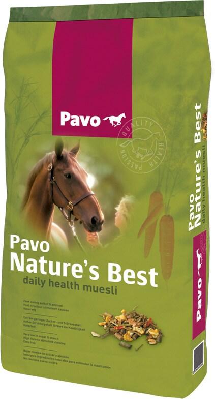 Pavo Nature´s Best 15 kg säck. Hogsta Foderbutik
