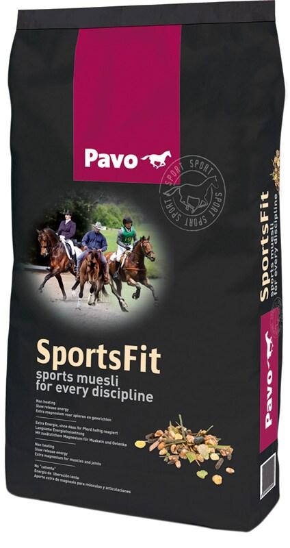 Pavo Sports Fit 15 kg säck. Hogsta Foderbutik.