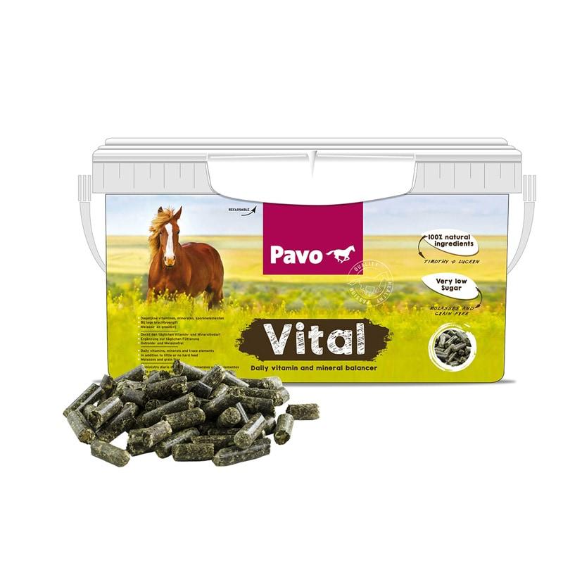 Pavo Vital vitaminer 8 kg Hogsta Ridsport.