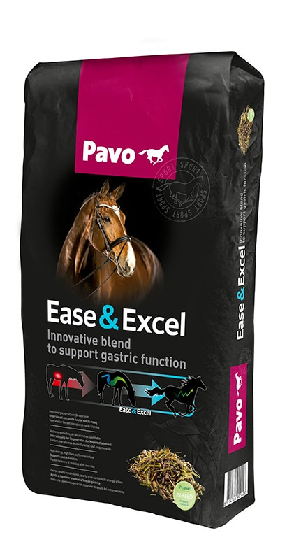 Pavo Ease & Excel 15 kg säck. Hogsta Foderbutik.