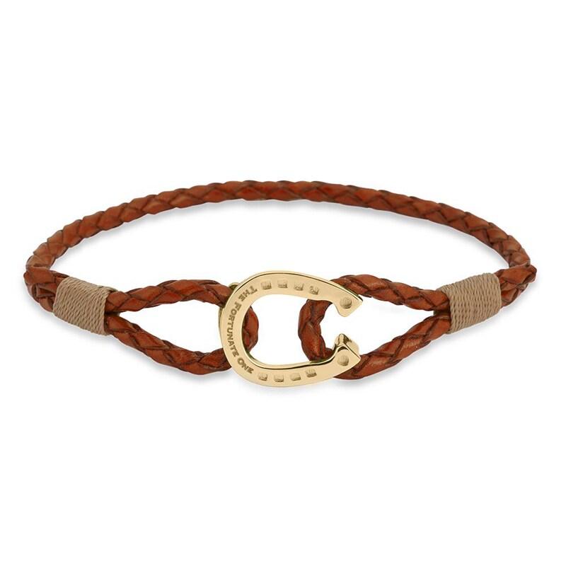 Bracelet Single - Palomino/Gold