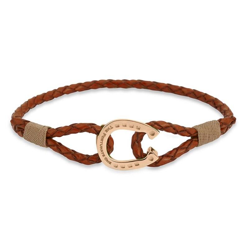 Bracelet Single - Palomino/Rose gold
