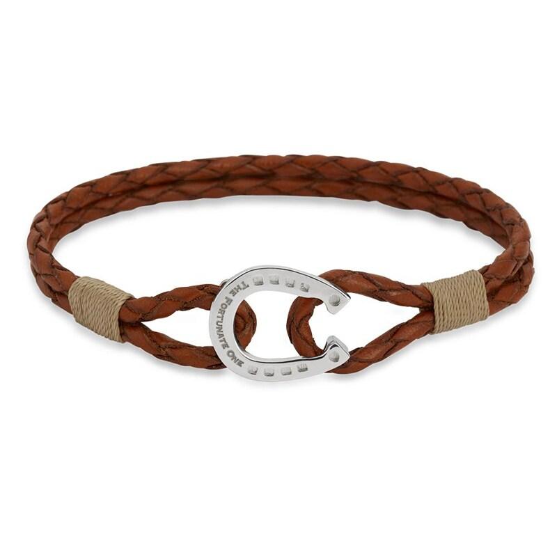 Bracelet Double - Palomino/Silver