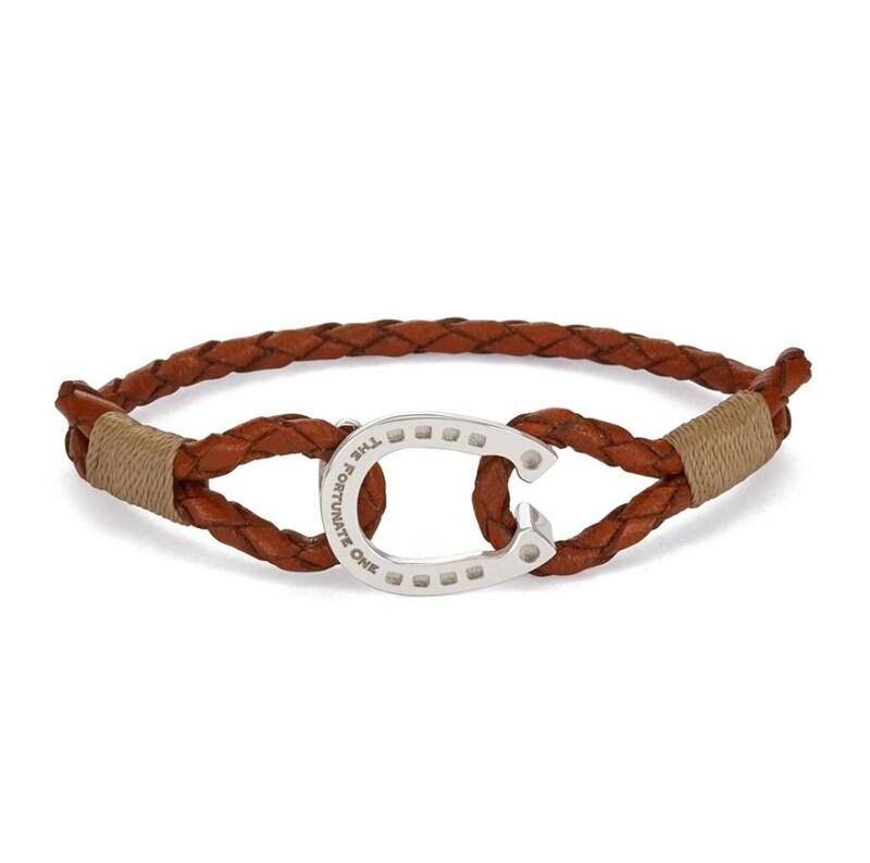 Bracelet Single - Palomino/Silver