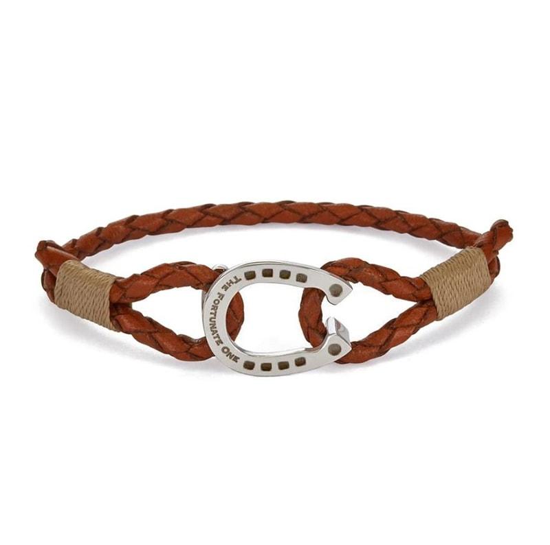 Bracelet Single - Palomino/Steel