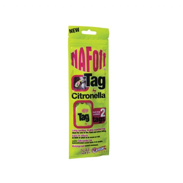 NAF off citronella Tags