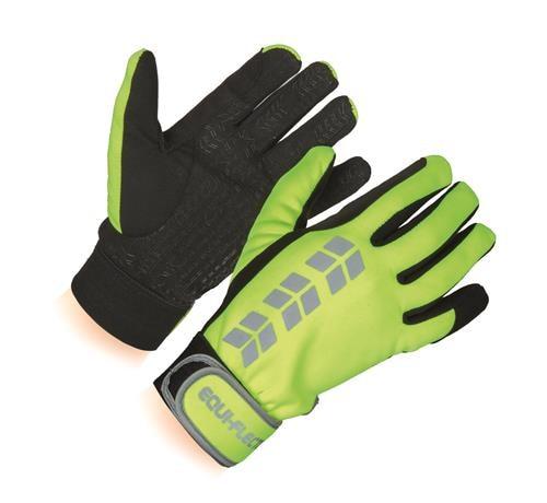 Reflex riding gloves