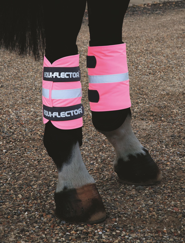 EQUI-FLECTOR® rosa benreflexer